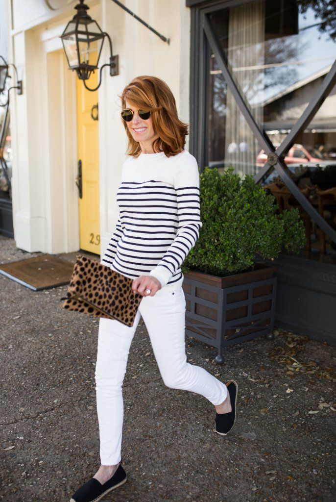 e0366ab1112 Casual Clothing For Women Over. Cathy Williamson of The Middle Page Blog  steps out in our Valeri Espadrille Flat