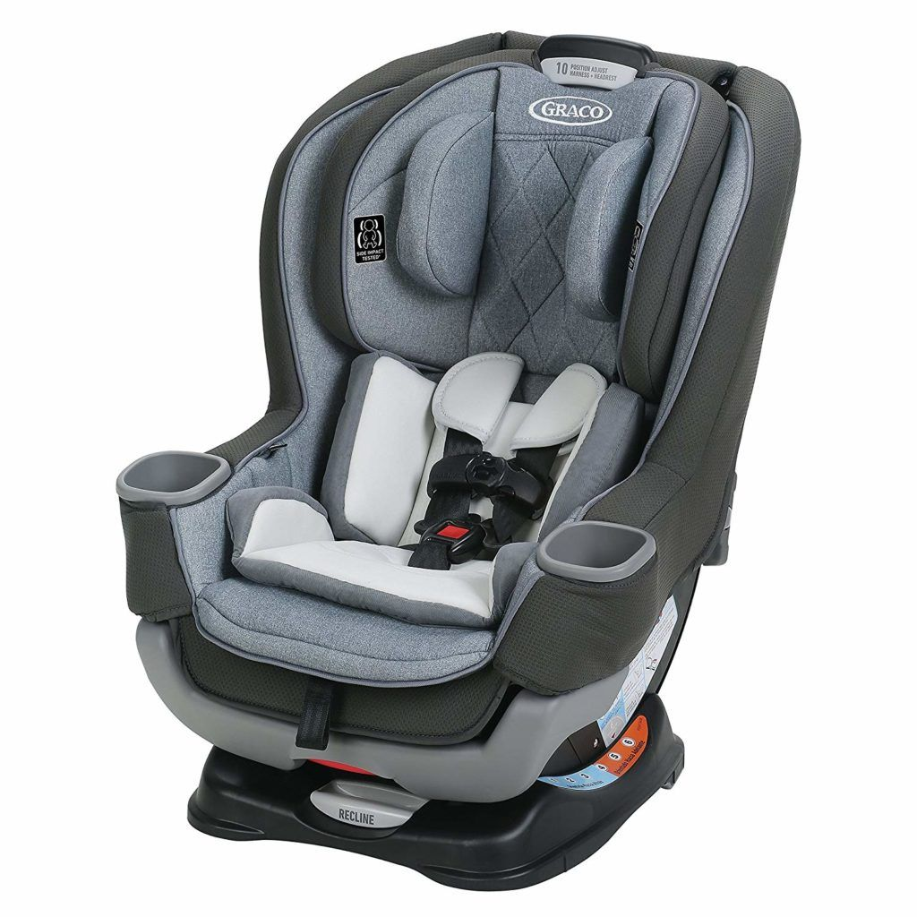 Graco Extend2Fit Platinum Convertible Car Seat Review