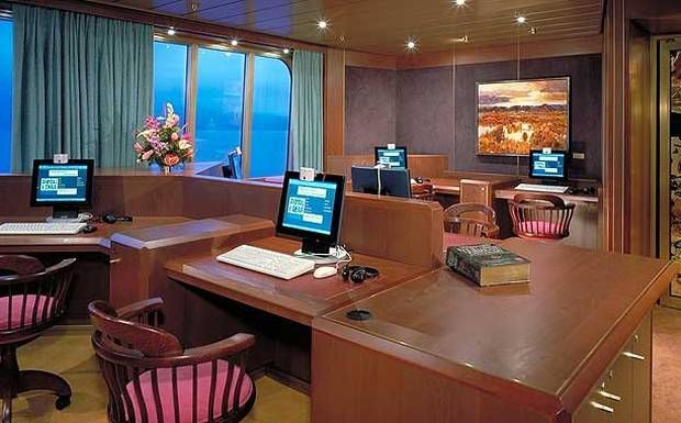 Cruise Ship Improved WiFi Access Reduces The Need Of Onboard - Cruise ship internet