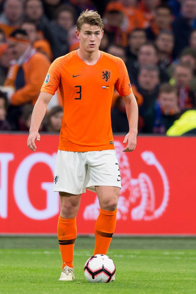 Matthijs De Ligt Of Netherlands Controls The Ball During The 2020