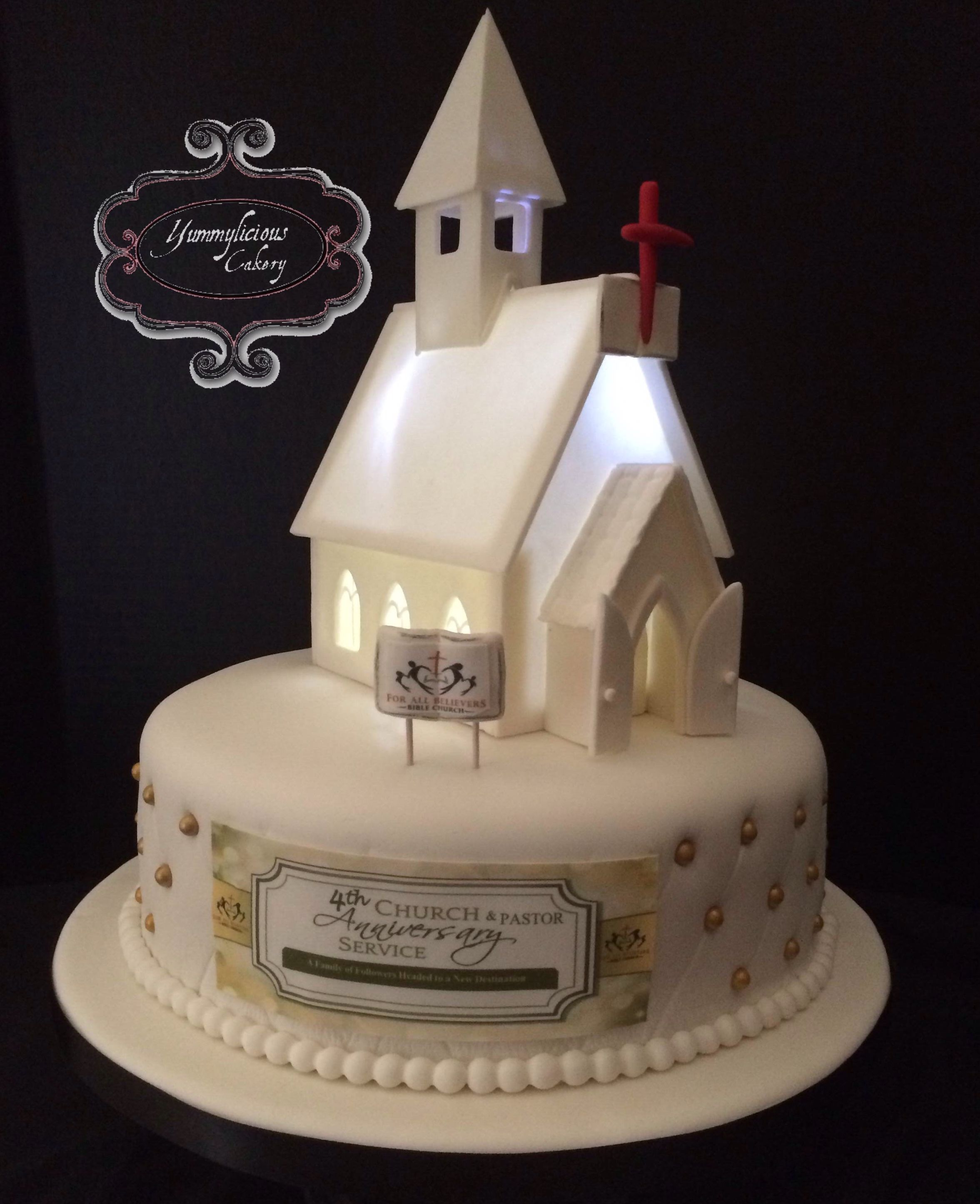 Church Anniversary cake Church Anniversary cake ...