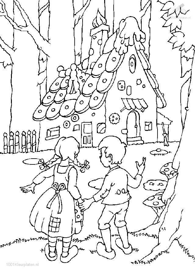 hansel and gretel coloring page  coloring pages coloring