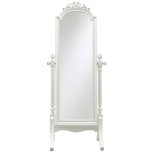 "Cheval Dressing Mirror in Choice of Color : Young America $799 Dimensions:  24.25""W x 20.75""D x 64""H"