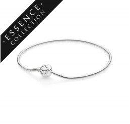 d0db3a550 Pandora Jewelry's Essence Collection bracelet is a new, hand crafted, slim  sterling silver bracelet