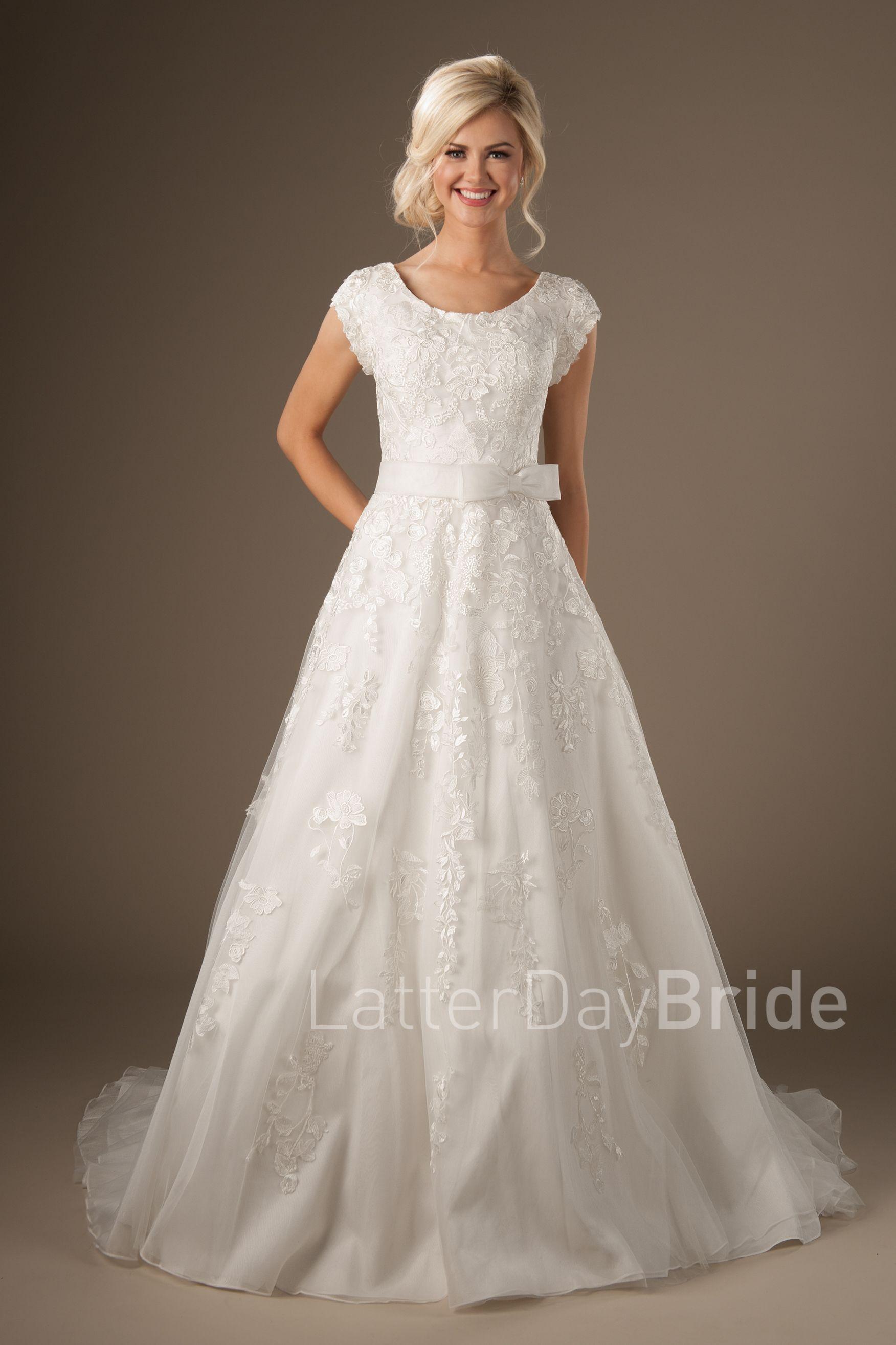 Modest LDS Wedding Dresses : Palladina | Wedding dresses | Pinterest ...