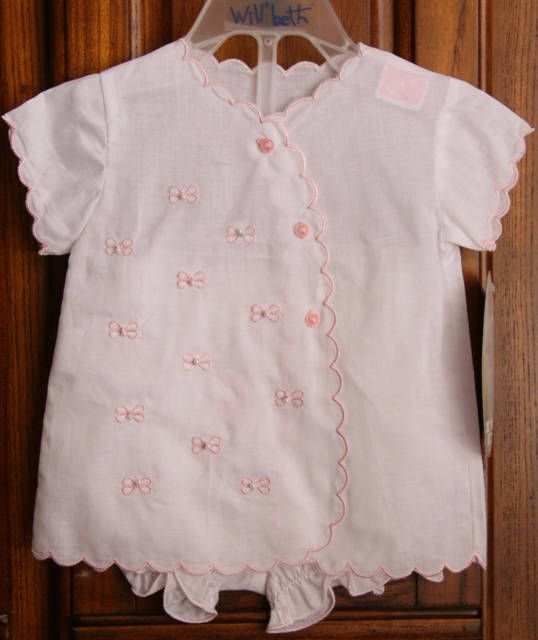 Will/'beth NWT Newborn Preemie Baby Girl Pink Knit Set Bonnet Take-Me-Home Dolls