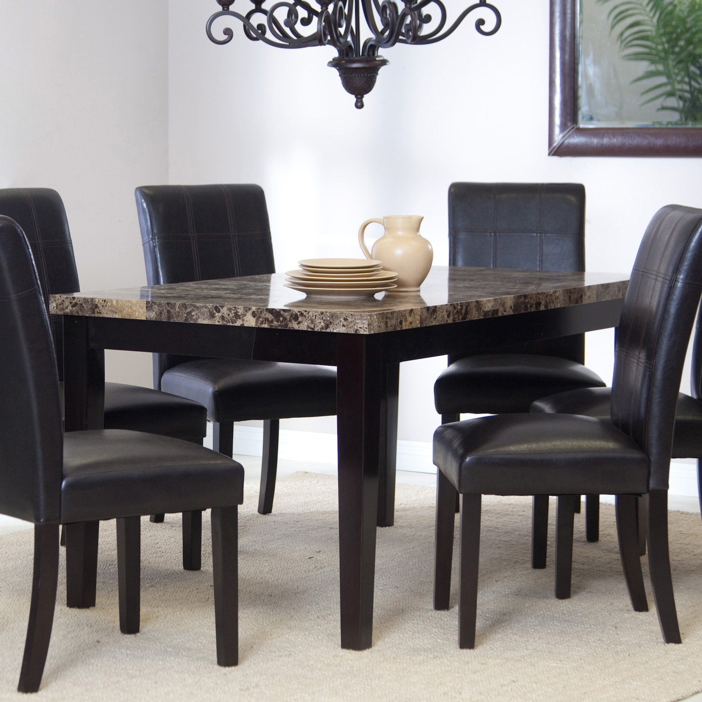 Palazzo Dining Table  Every Meal Will Be More Elegant When Eaten Simple Dining Room Tables Walmart Inspiration Design
