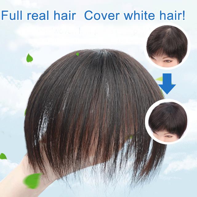 Human Hair Toppers--100% Human Hair