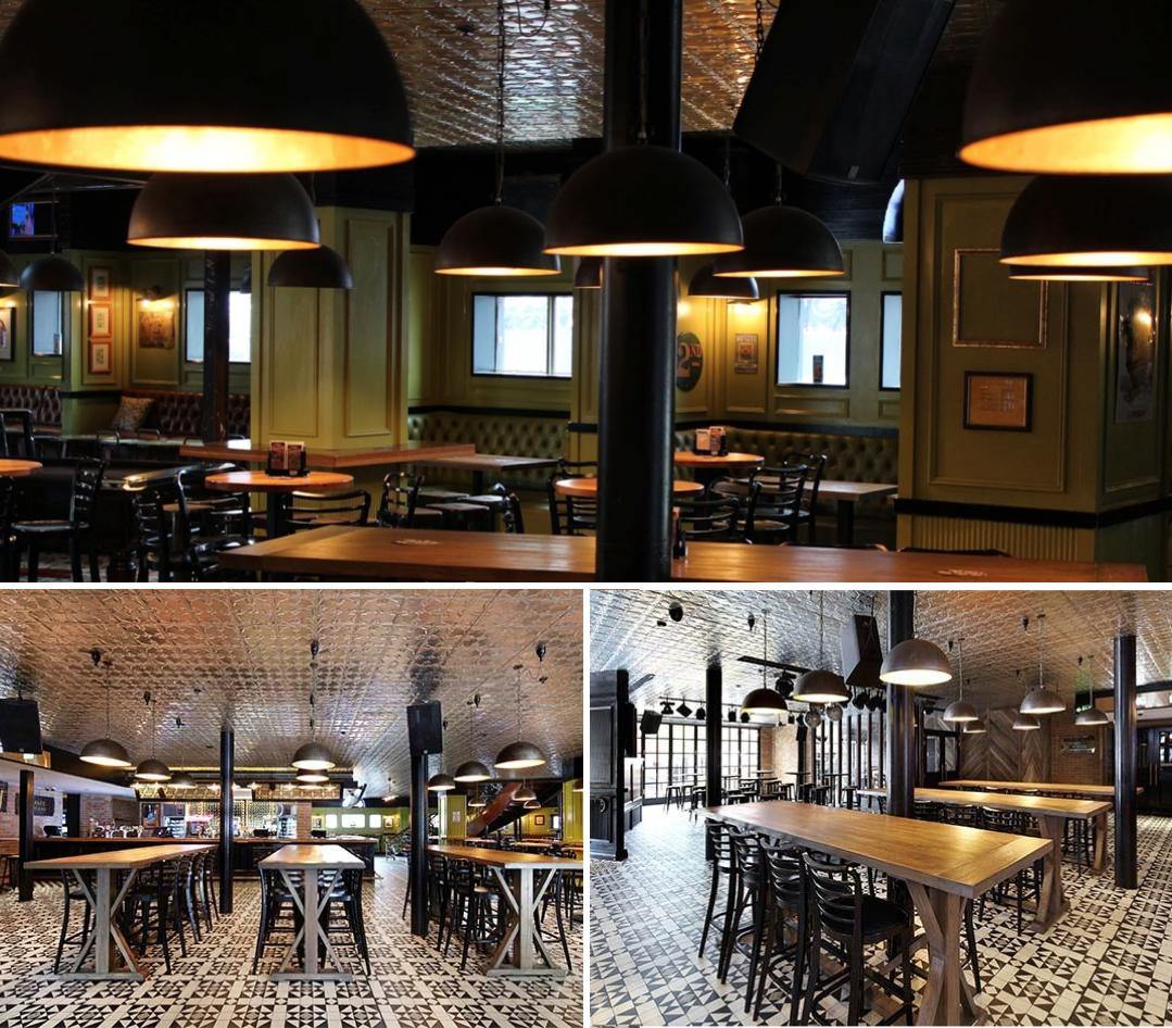 The Galileo Lamps Are Special Guests At Pj S Irish Pub In Parramatta Designer Sjb Le Nostre Lampade Sono Ospiti Speciali Al