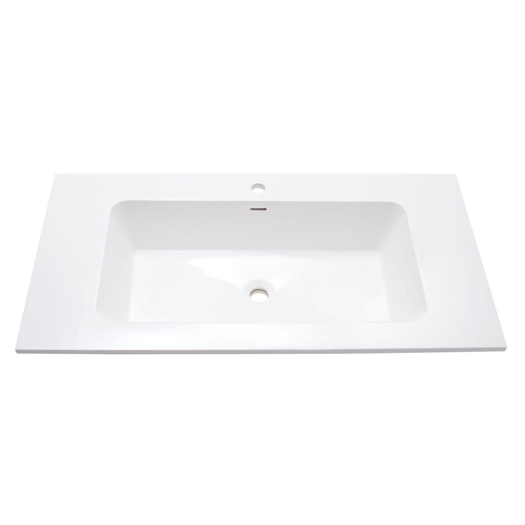 Avanity Versastone 39 In Single Bathroom Vanity Top With