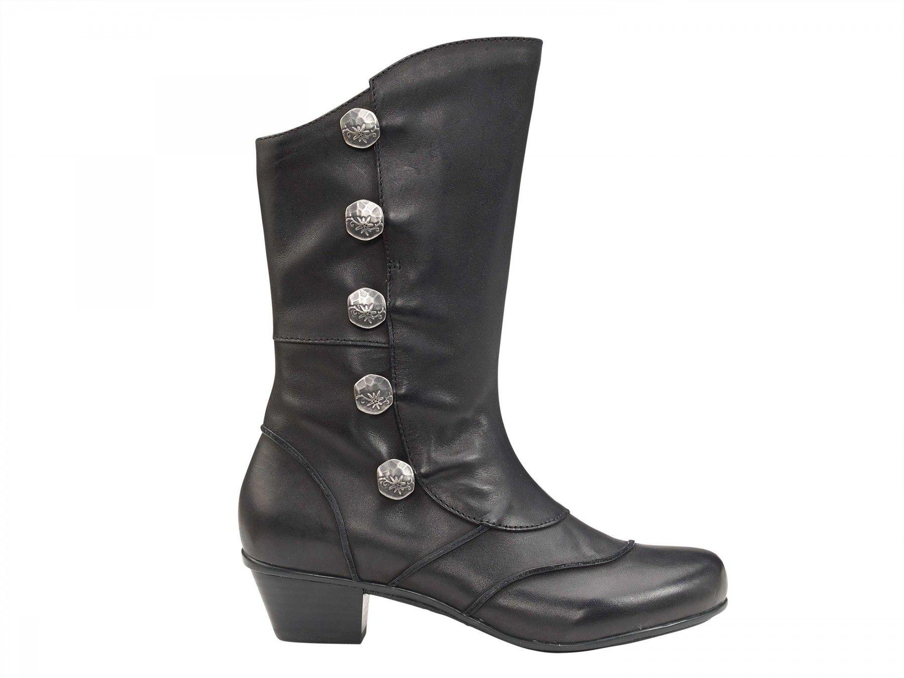 395510d09 Naomi Mid-Calf Boot - Black, Womens Comfort Boot - Aetrex Worldwide ...