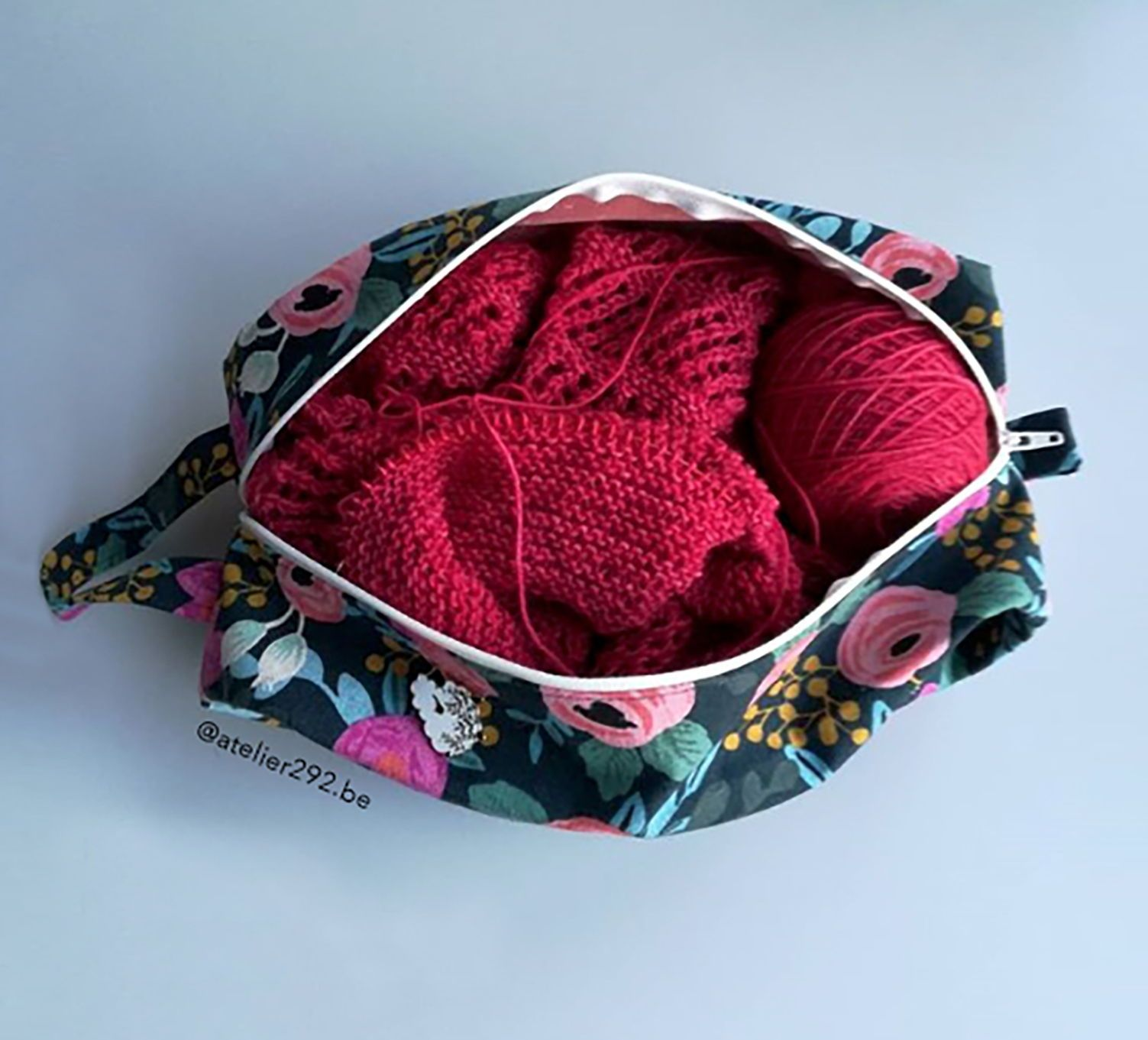 "A perfect knitting bag. ""Finn Soft Boxy Bag"" - Sewing ..."