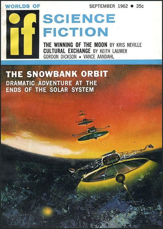 MAGAZINE COVER WORLDS SCIENCE FICTION IF ROCKETS WAR FRAMED ART PRINT B12X6963