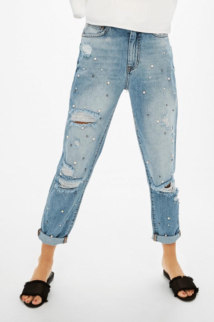 customiza-pantalones-tachuelas-perlas-jeans