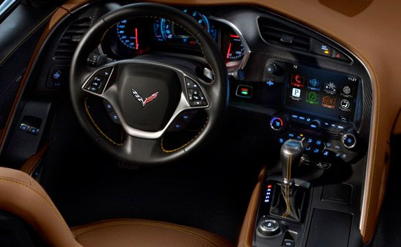 PIC] First View of the 2014 Corvette Stingray with an Automatic ...