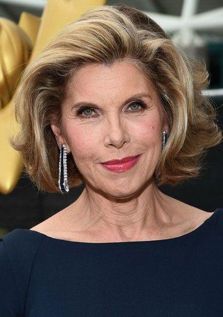 45 Celebrity Short Frisuren über 60, die einen Blick ...