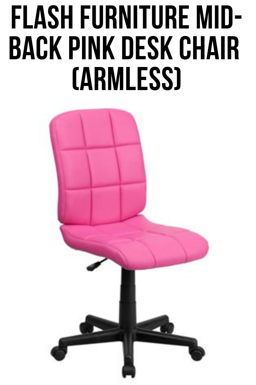 RoundUp The Best Pink Desk Chair Pink desk chair, Desk