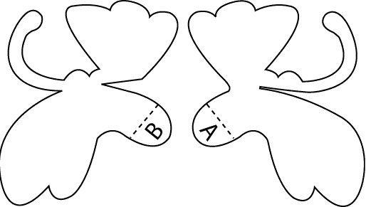 Pop Up Butterfly Pop Up Cards Butterfly Template Paper Pop