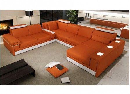 Zuo hampton double chaise lounge brown modern karibou