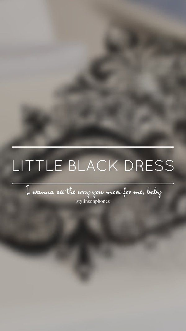 Little Black Dress One Direction The Best Boy Band In 2018