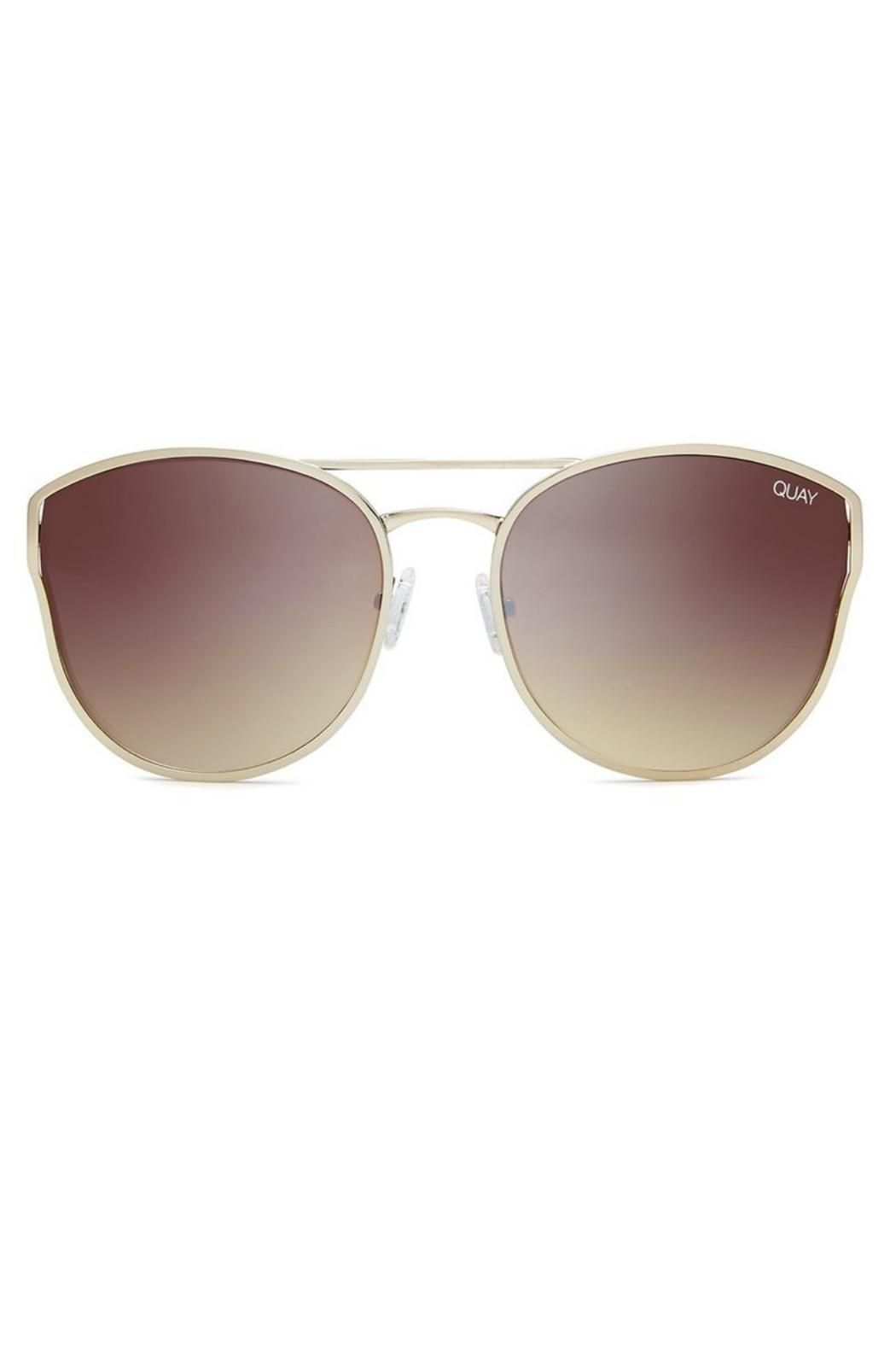 Cherry Bomb is for the ultimate cool girl providing the perfect amount of glam to any look. These rounded oversized cat eye sunnies feature a metal frame and double bridge adjustable nose pads.  Metal Frame. Polycarbonate Lens. Stainless Steel Hinges. 100% UV protection.   Width: 140mm. Height: 60mm. Nose Gap: 15mm. Cherry Bomb by Quay Australia. Accessories - Sunglasses Atlanta Georgia