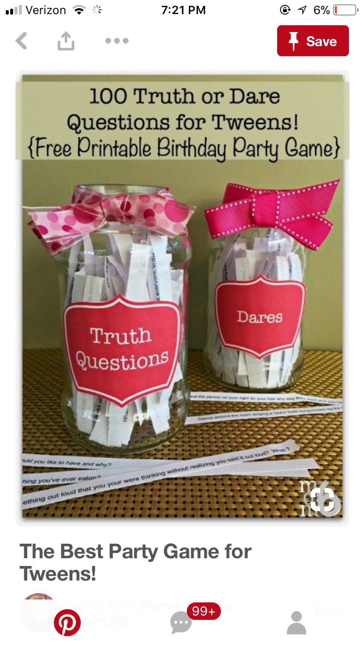 Pin By Caitybug127 On Bonfire Party Birthday Party For Teens Tween Party Games Tween Birthday Party