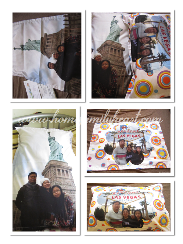 Our Personalized Pillow Cases from Artscow.com