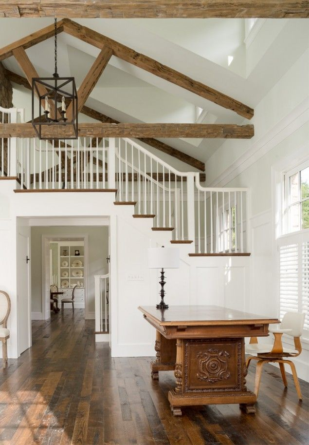 Modern Farmhouse New Construction Open Staircase Floorpan