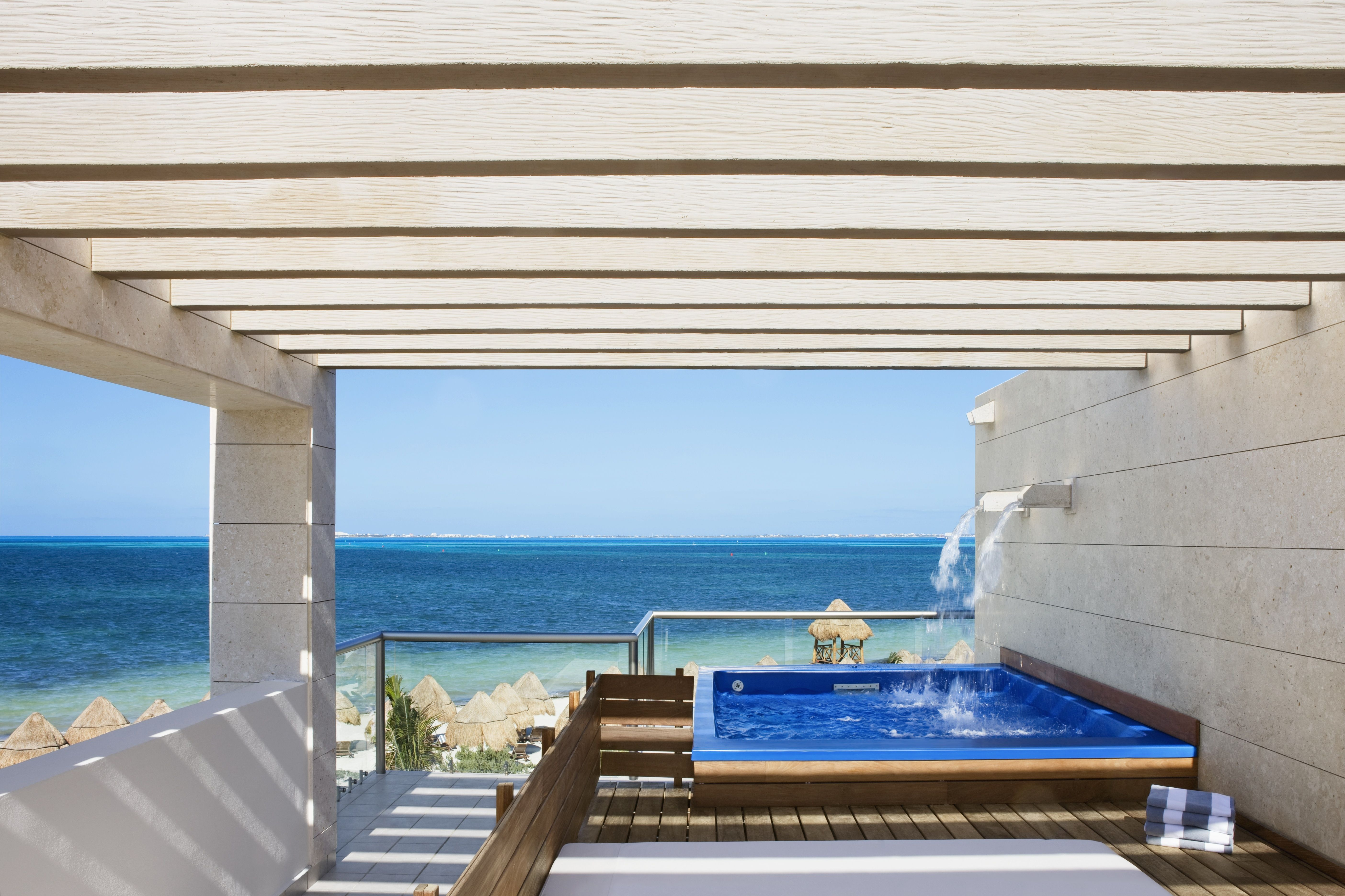 Cheapcaribbean The Beloved Hotel Beachfront Casita Suite With Plunge Pool Luxurious Two Story Beachfront Cas Mexico Resorts Caribbean Getaways Cheap Caribbean