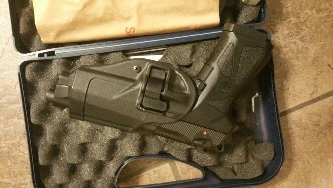 Guns and GraniteBeretta 90-two in Box w PX4 Storm Serpa