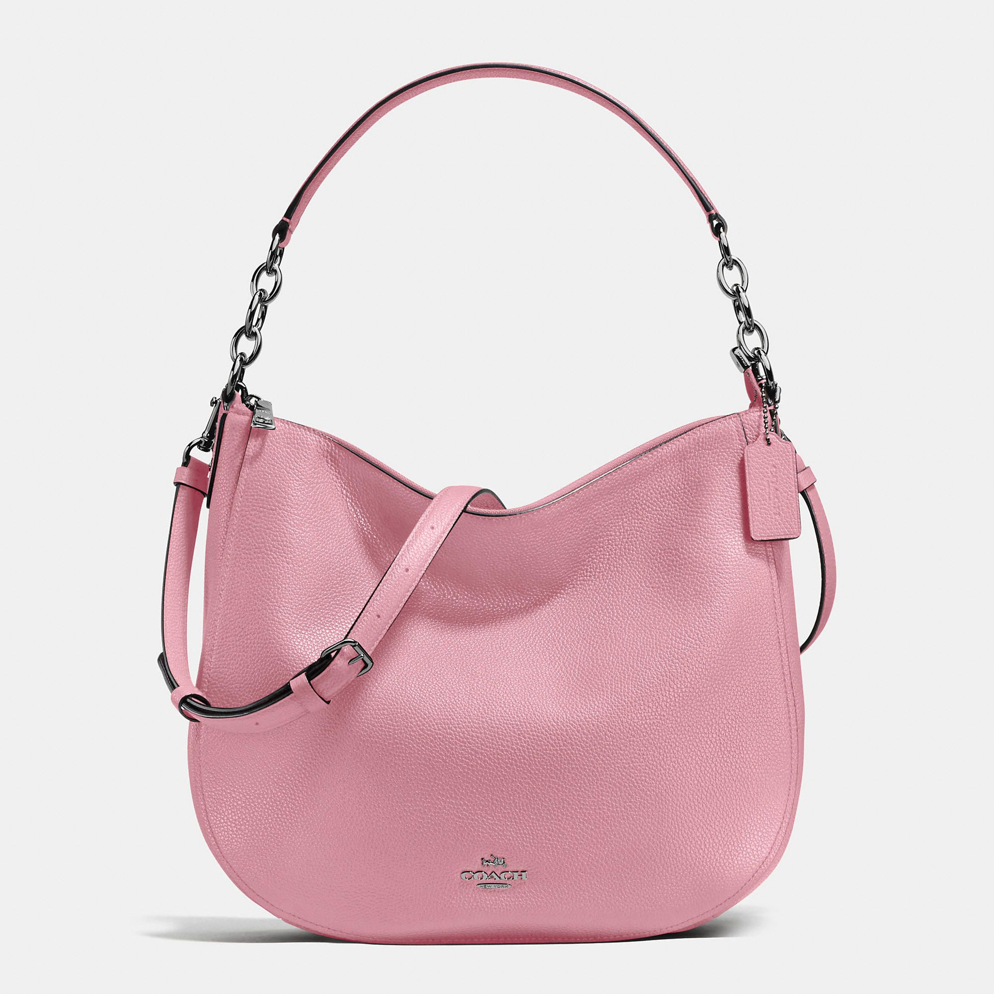 COACH . #coach #bags #shoulder bags #hand bags #leather #hobo #lining #