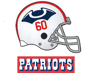 1960 the tri corner hat logo the name patriots came from a fan rh pinterest com au