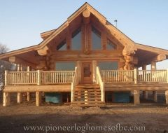 custom log homes picture gallery house maison bois rond chalet bois chalet bois rond. Black Bedroom Furniture Sets. Home Design Ideas