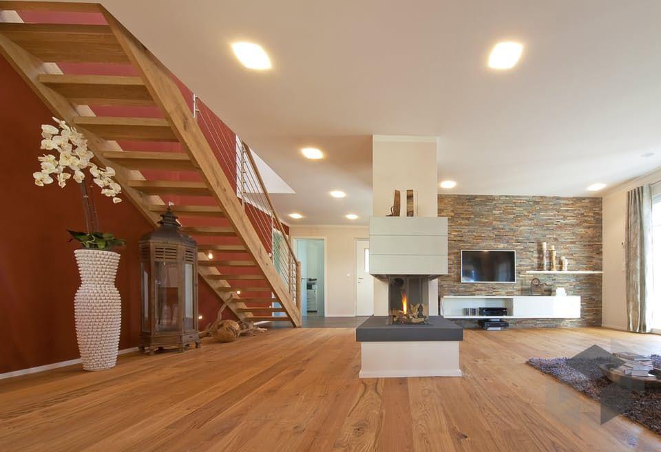 Musterhaus inneneinrichtung wohnzimmer  Impression aus dem Haas MH Poing 187 von Haas-Fertigbau ➤ Auf der ...