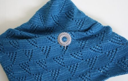 Fresco Basket Whip Cowl By Laura Patterson - Free Knitted Pattern - (ravelry)