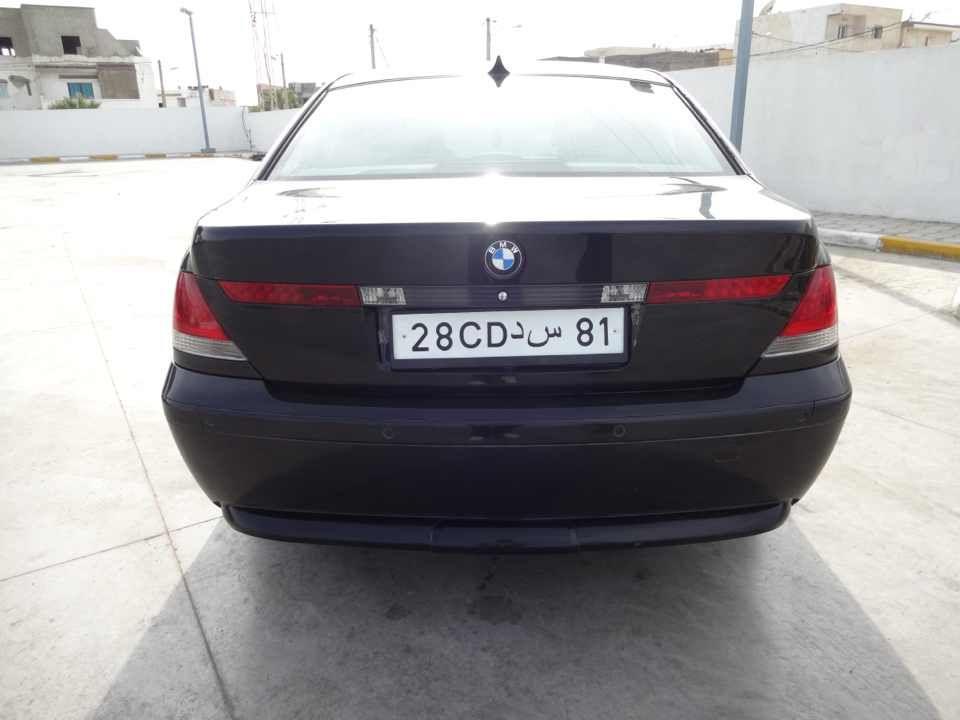 annonce de vente de voiture occasion en tunisie bmw serie 7 tunis bmw occasion en tunisie. Black Bedroom Furniture Sets. Home Design Ideas