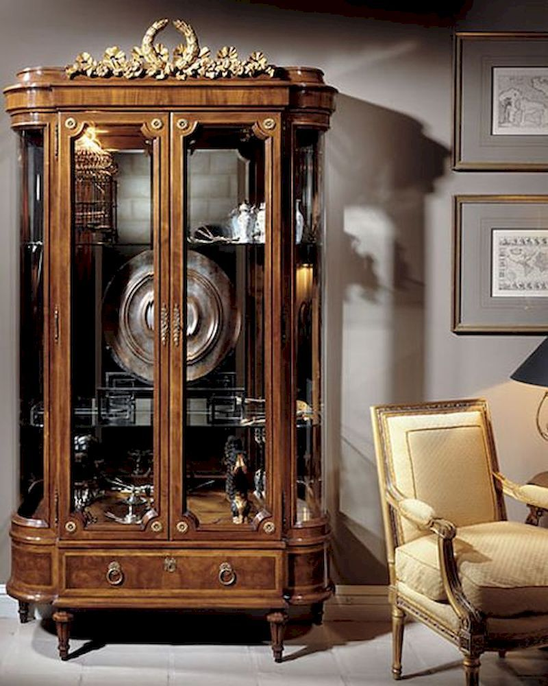 Good Infinity Furniture #23 - Infinity Furniture Classic Display Cabinet Louis XVI INLV751a-2