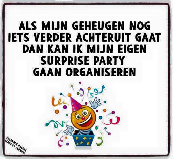 Grappige Citaten Pensioen : Geheugen surprise party teksten pinterest