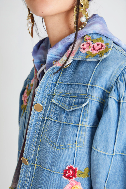 Devia Denim Jacket Denim Jacket Patches Denim Jacket Embroidery Jean Jacket Design [ 1500 x 1000 Pixel ]
