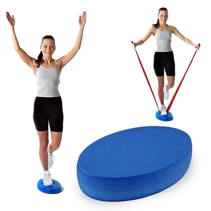 82% Off Best Offer!!! +FREE SHIPPING Balance Pad for Yoga Exercise Training Stability Mobility Balance Trainer
