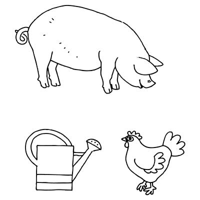 Marabu Window Color Malvorlage Schwein Kanne Huhn Http Marabu Com K Skh Marabu Windowcolor Malvorl Malvorlagen Wenn Du Mal Buch Malvorlagen Fur Kinder