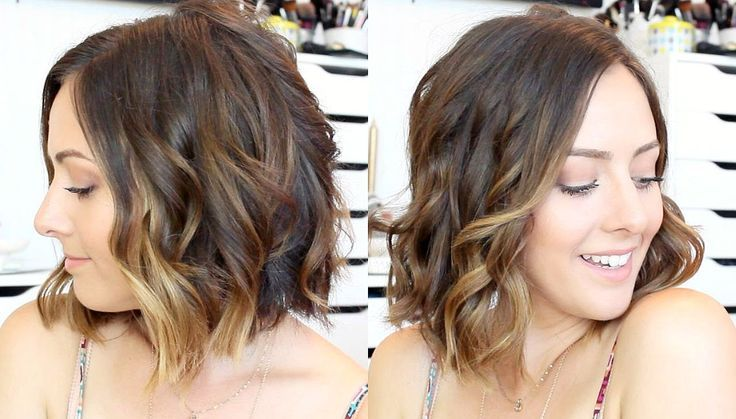 16++ Curling iron for short hair waves trends