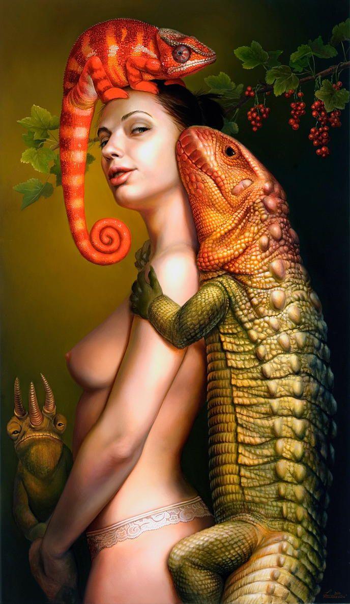 "ARTIST: Llia Mazurkevich ~ ""Inseparable"""