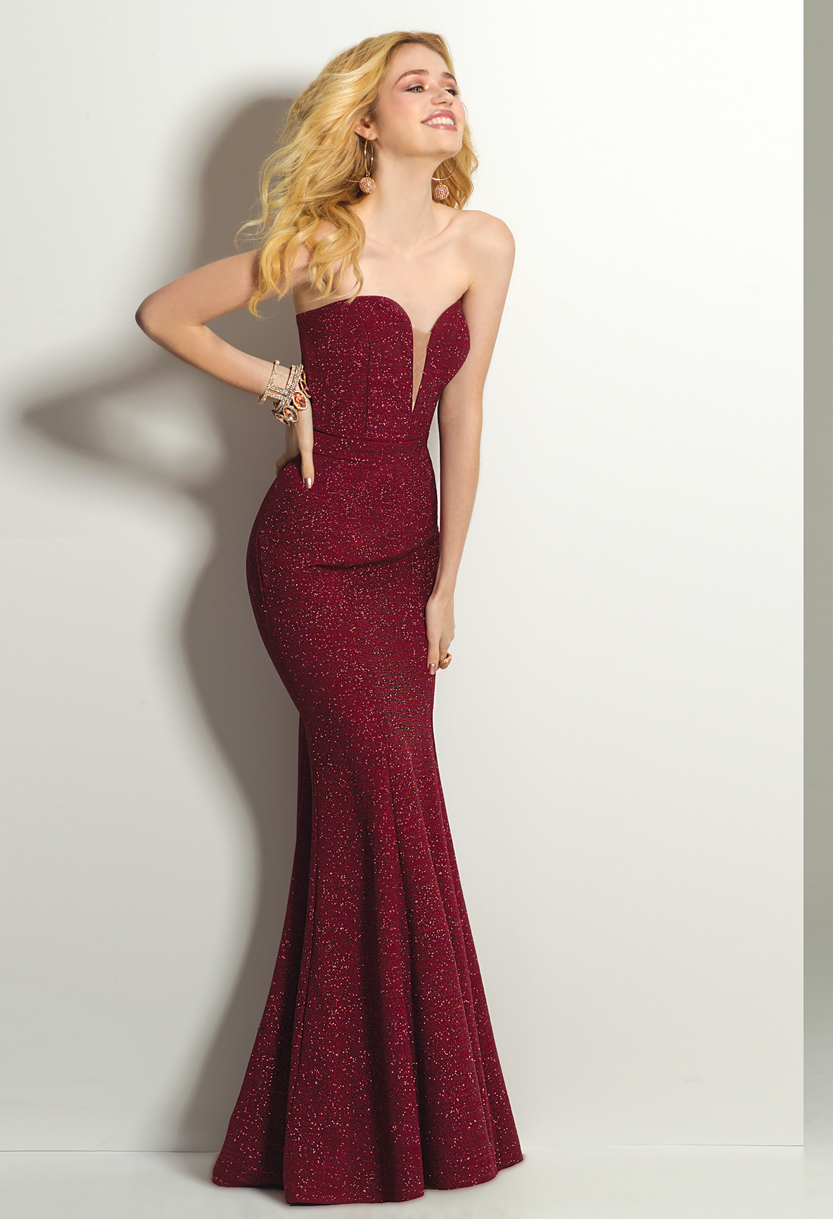 Own the night in this sophisticated evening gown! With its ...
