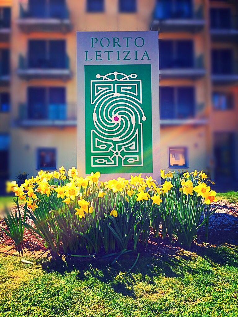 Welcome Spring!!!  Residence Porto Letizia Lake Lugano- Italy