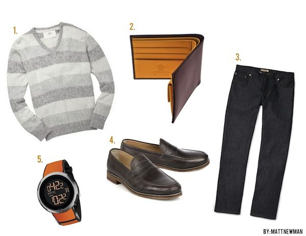 GentlemanStanding Style Board featuring #FrenchConnection, #Ettinger, #Burbery, #BenSherman, #Gucci