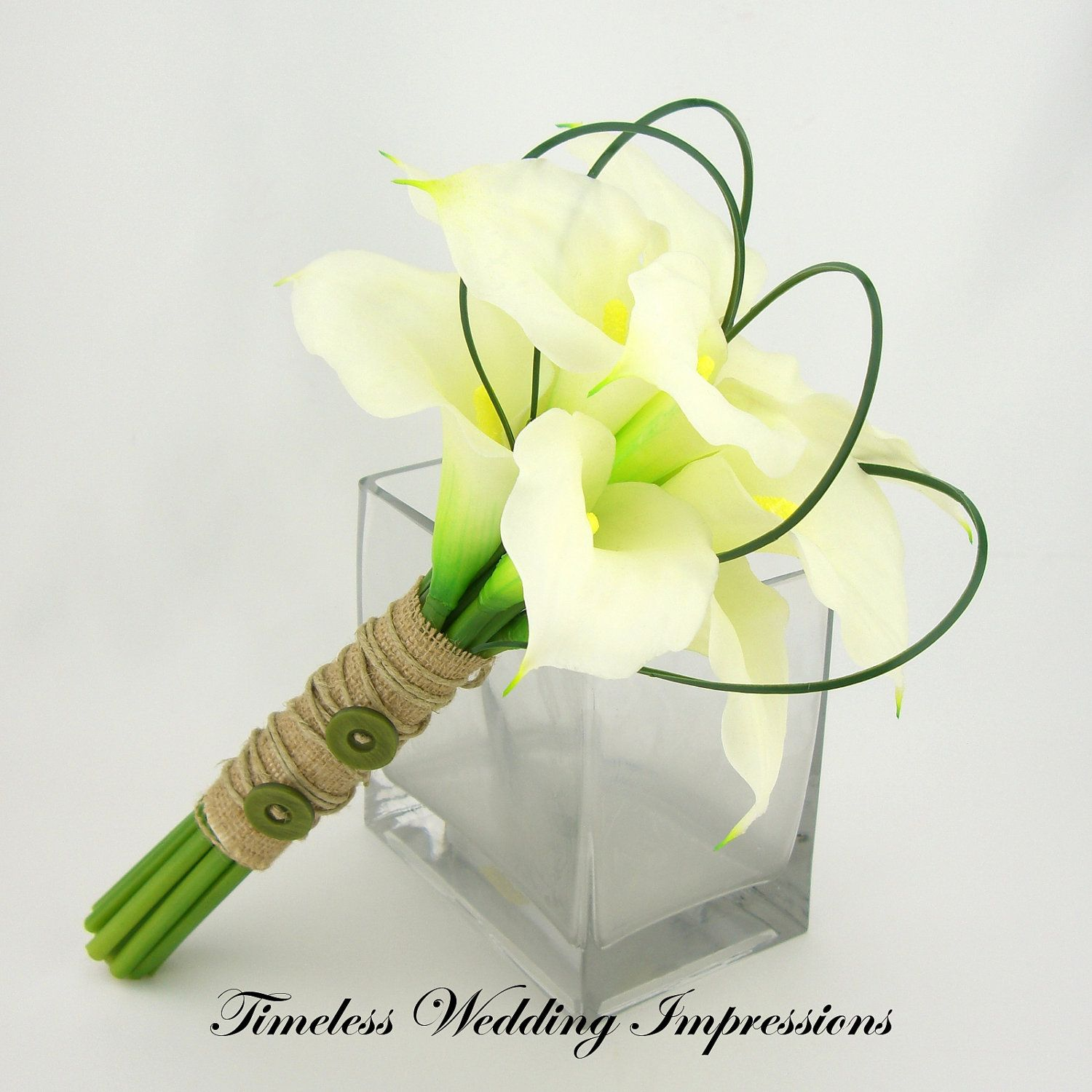 Calla Lily Wedding Bouquets Request A Custom Order And Have Something Mad Calla Lily Bridesmaid Bouquet Calla Lily Bouquet Wedding Calla Lily Wedding Flowers