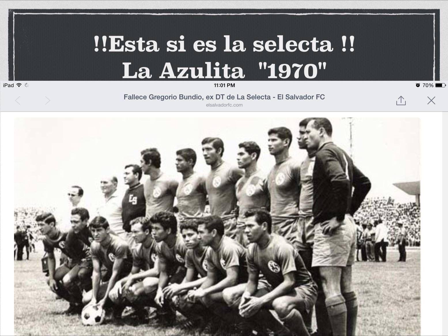 Esta es la verdadera selecta clasificó por primera vez al mundial de México 70s esparte de nuestra historia... ....?.... A A