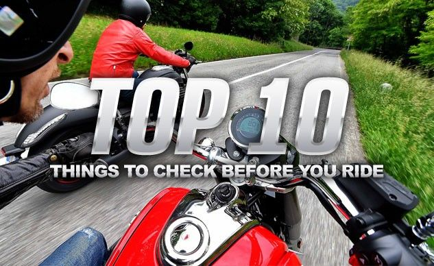 Top 10 Things To Check Before You Ride Riding Bike Life 10 Things
