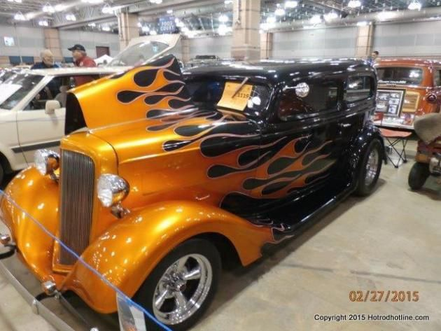 Atlantic City Car Show And Auction Hotrod Hotline DAP Of FLAMED - Atlantic city car show